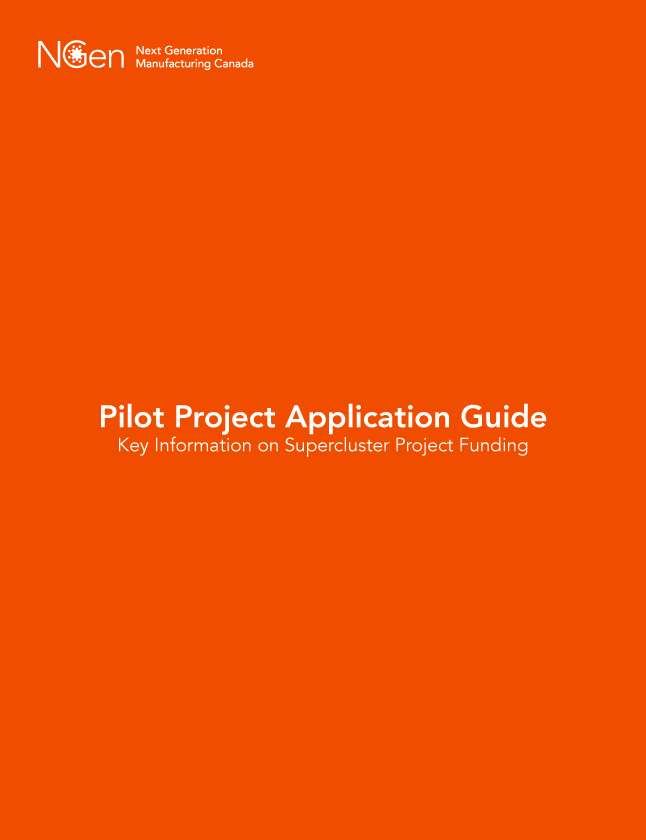 Pilot Project Application Guide