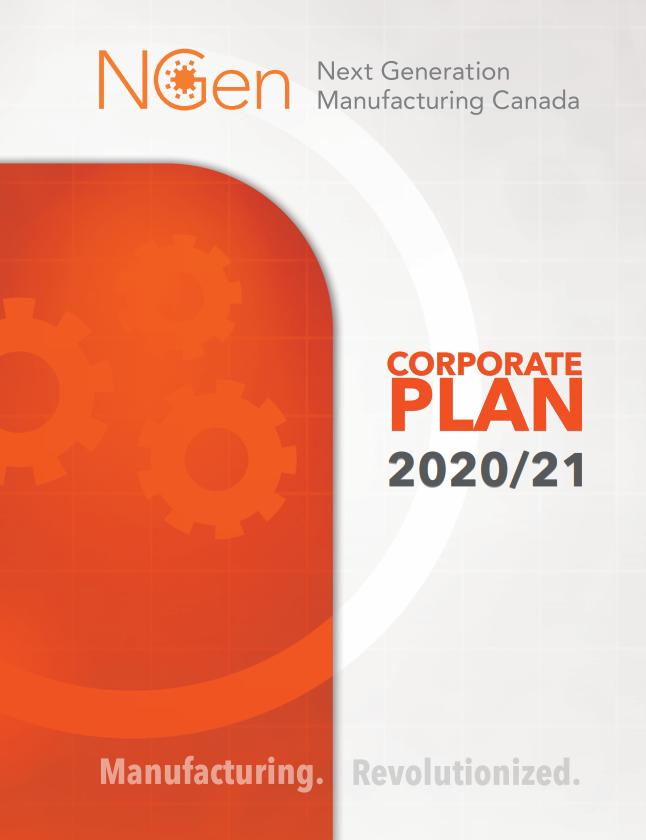 Corporate Plan 2020-2021